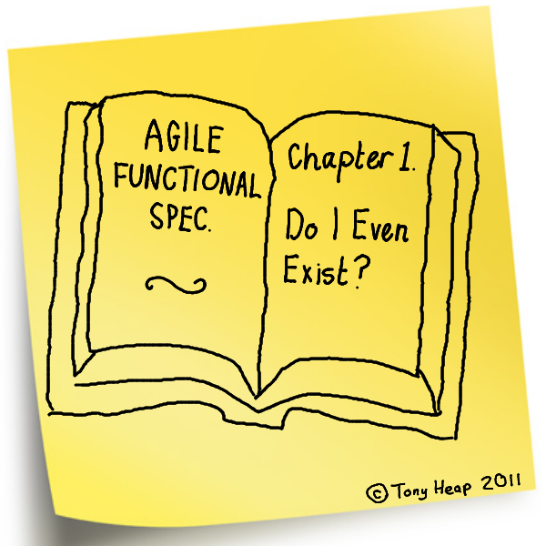 An Agile Functional Specification Itsalldesigncom - Requirements document template agile