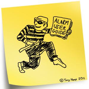 User Guide Burglar